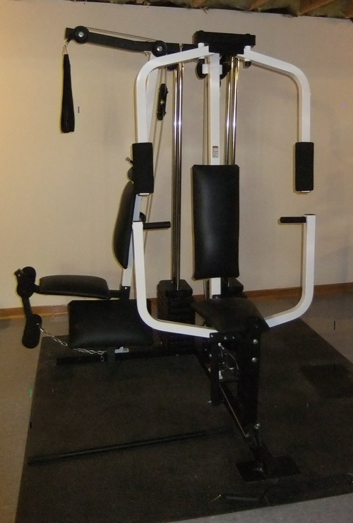 weider pro 9300 multi station home gym weight bench strength training ebay. Black Bedroom Furniture Sets. Home Design Ideas