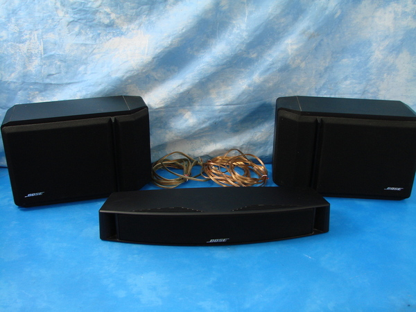 bose theater surround sound speaker system 201 series vi. Black Bedroom Furniture Sets. Home Design Ideas