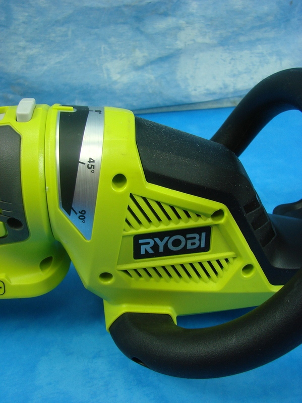 ryobi one plus cordless hedge trimmer p2606 18v battery pack operated ebay. Black Bedroom Furniture Sets. Home Design Ideas