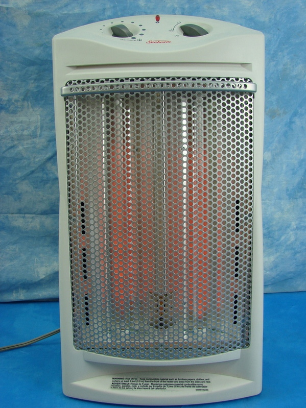 Sunbeam Tower Radiant Large Room Quartz Space Heater By