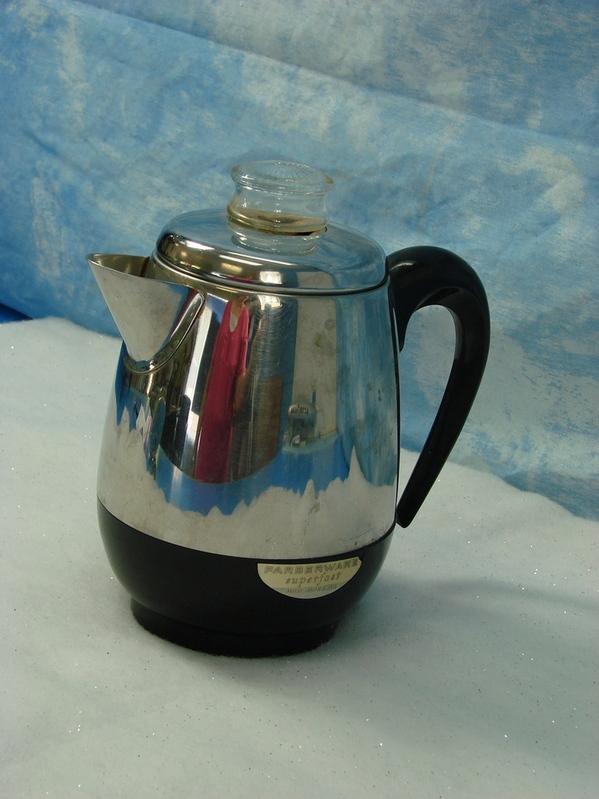 Well! farberware percolator vintage