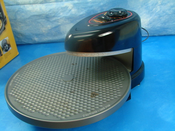 Countertop Height For Baking : ... 03430 Rotating Countertop Pizza Oven Baking Appliance in Box eBay