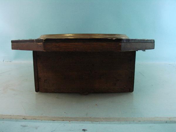 Vintage Regulator A Japanese Wood Wall Clock Pendulum Key
