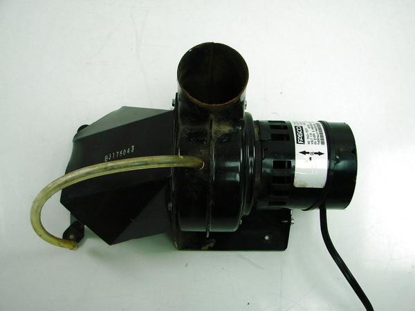 Rheem fasco water heater power vent inducer blower motor for Heater blower motor not working