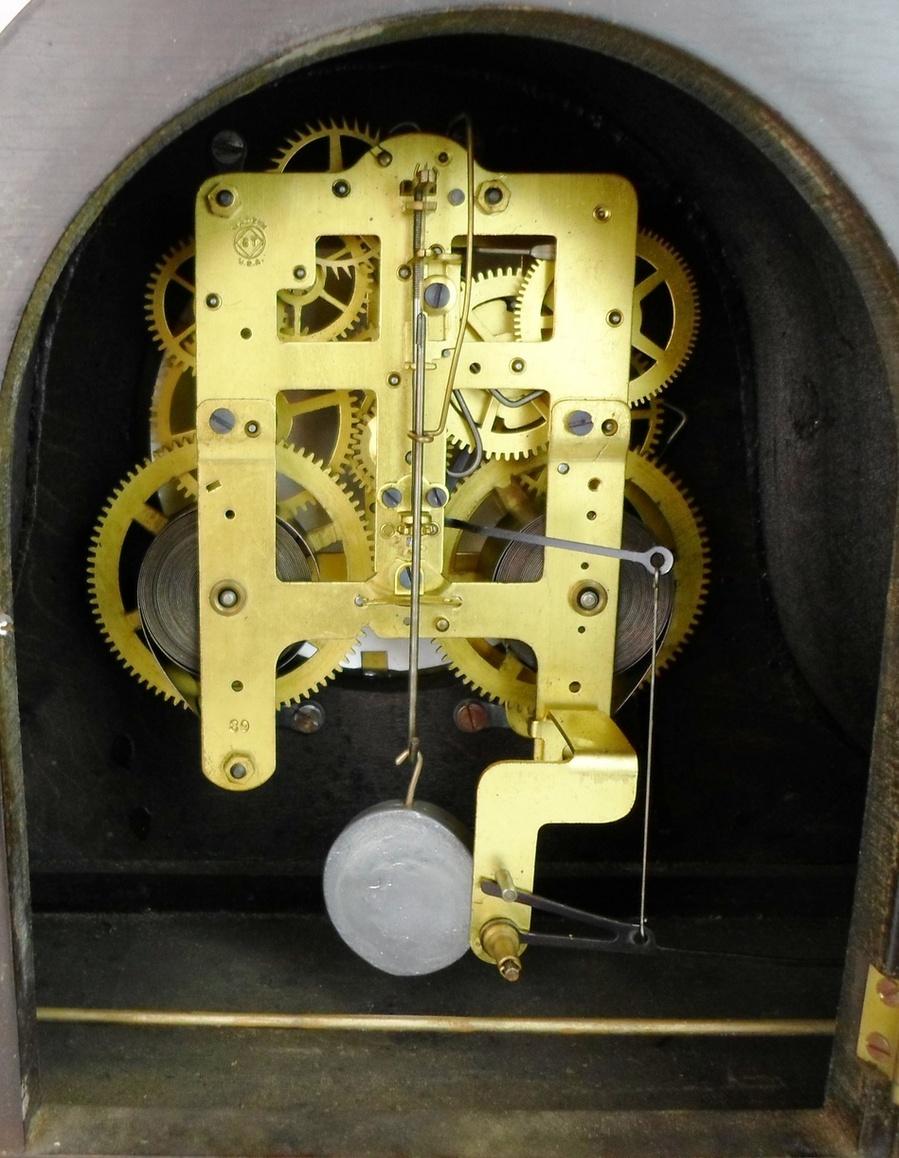 beautiful seth thomas pendulum chime mantle clock 2 ebay