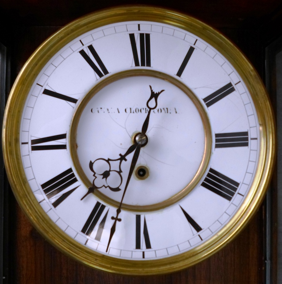 Antique german mechanical keywound pendulum wall clock not for German pendulum wall clocks