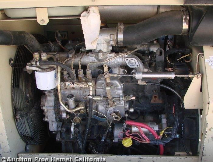 Ingersoll Rand Diesel Air Compressor P185wir 185 Cfm Ebay