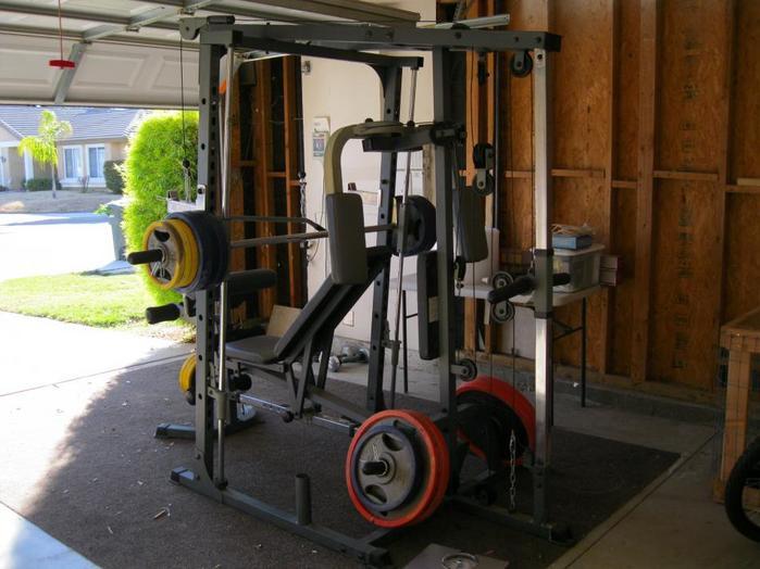 Impex powerhouse elite phe smith machine home gym