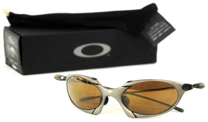 Oakley Titanium Frame Glasses : Oakley Romeo 1.0 Titanium Frame Gold Iridium Lens Mens ...
