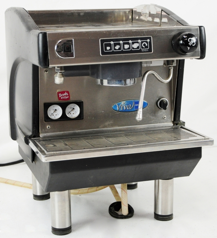 reneka viva commercial espresso machine single industrial. Black Bedroom Furniture Sets. Home Design Ideas