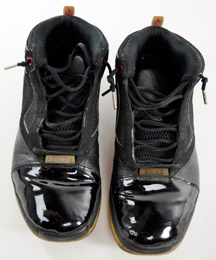 136059-061 Nike Air Jordan XVI Black Patent Leather Basketball ...