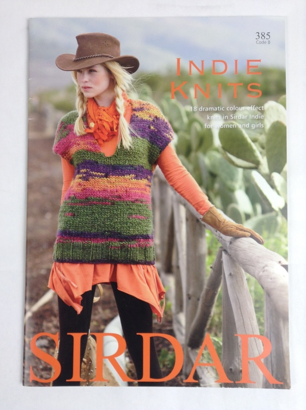 Knitting Patterns Lion Brand : Sirdar Indie Knits 385 Code B Softcover Knitting Pattern Book eBay