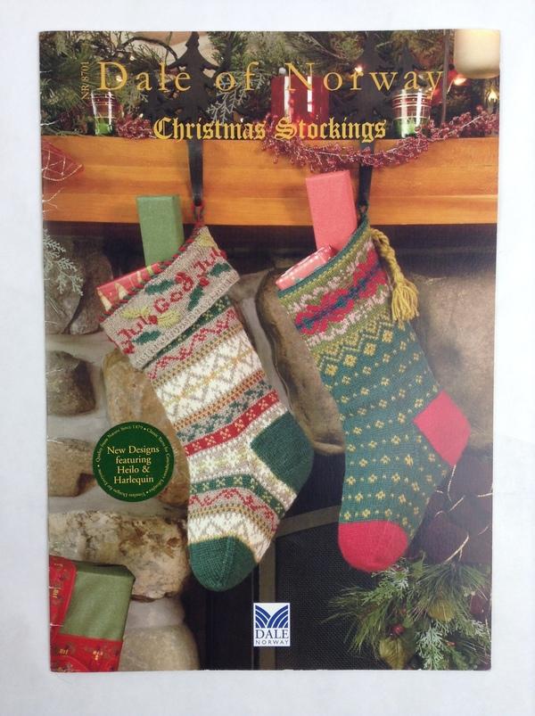 Dale Of Norway Knitting Pattern Books : CHRISTMAS STOCKINGS By Dale of Norway Knitting Pattern Book eBay