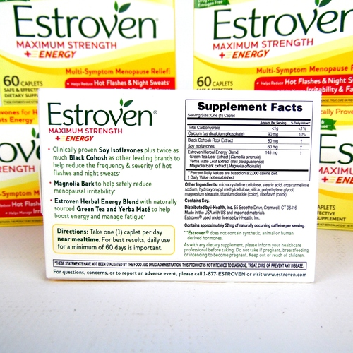 Estroven energy side effects