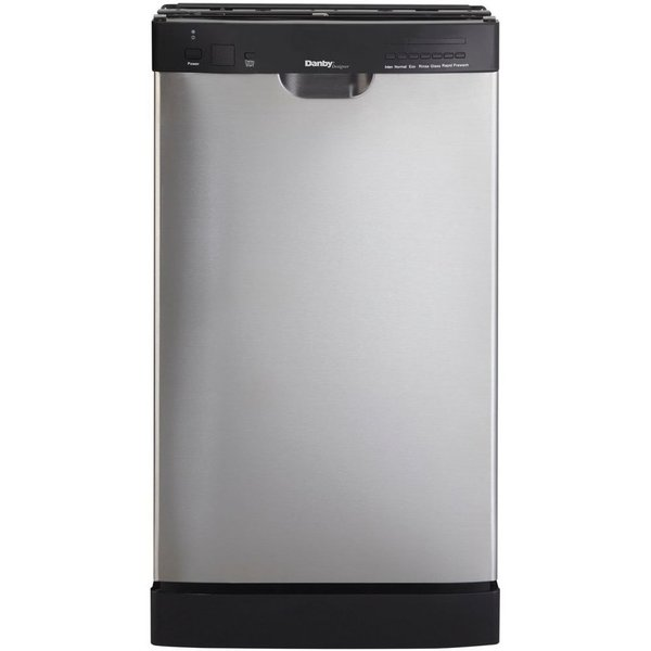 Danby Ddw1899bls 18 Inch Built In Dishwasher Stainless