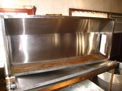 Used Restaurant Vent Hoods ~ Quot  stainless steel commercial restaurant exhaust