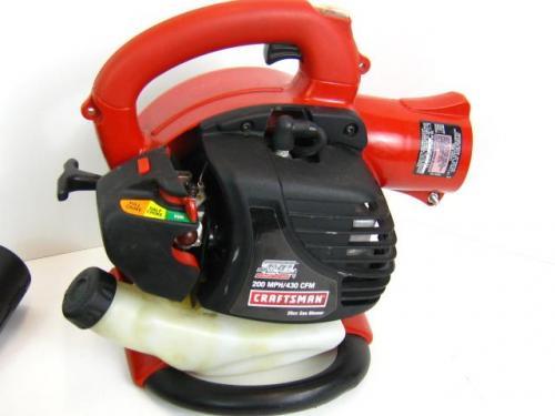 Sears Craftsman Blower Vac Parts : Sears craftsman cycle cc gas leaf blower yard vac