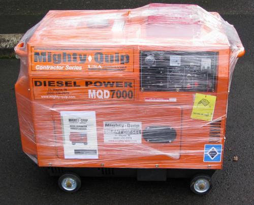 new diesel generator 6kw mighty quip electric start ebay