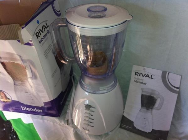 Rival® 5 Speed Blender Model: BL-706 *Brand New*