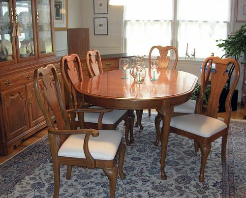 Thomasville dining room tables thomasville dining room double pedestal table 46721 772 oval - Thomasville kitchen table ...