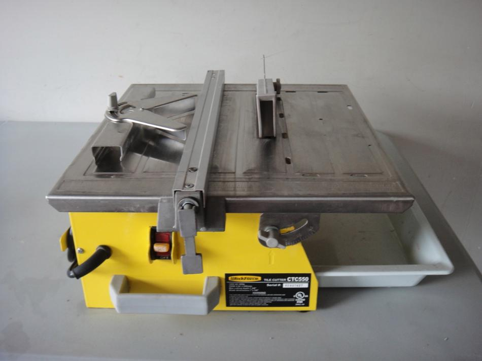 7 Quot Work Force Workforce Wet Dry Tile Saw Ctc550 Excellent