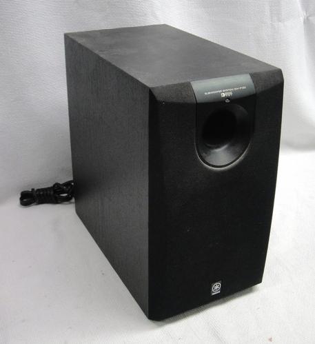 yamaha sw p130 subwoofer system black speaker home cinema