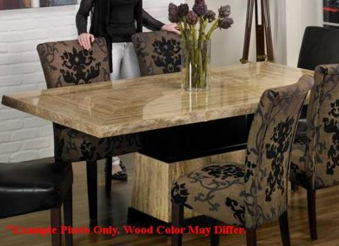 high end travertine stone top dining room table no reserve ebay