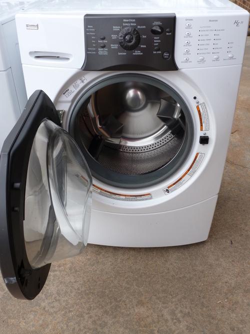 kenmore washing machine front loader