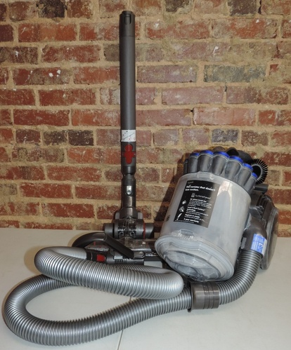 dyson dc23 turbinehead purple canister vacuum cleaner ebay. Black Bedroom Furniture Sets. Home Design Ideas