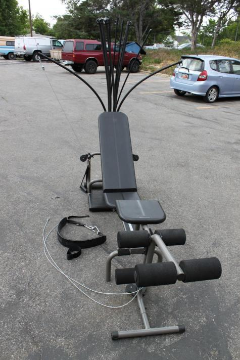 Bowflex Power Pro With Leg Extension Training System