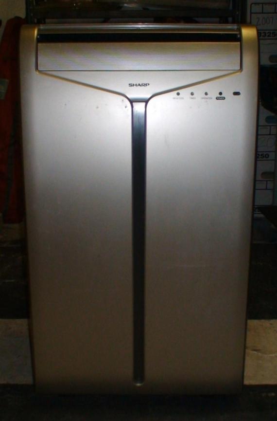 10MH Portable Room 10000 BTU Air Conditioner Complete w Remote Manual