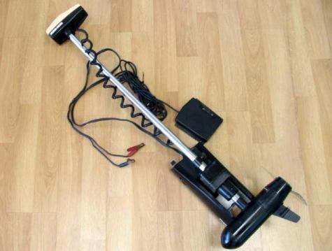 Minn kota power drive 765mx trolling motor bow mount foot for Foot operated trolling motor