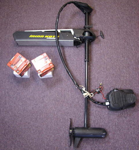 Minn kota fortrex trolling motor bow mount 80 thrust foot for Foot operated trolling motor