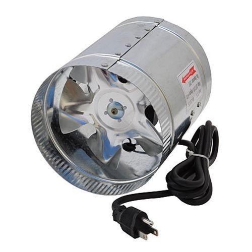 Ledwholesalers Gyo2402 6 Inch 240 Cfm Air Duct Inline