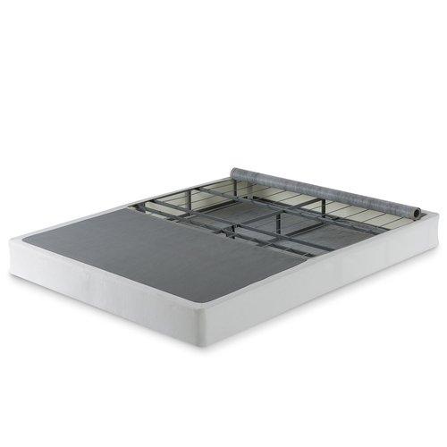 zinus bi fold box spring 7 5 tall full size steel mattress foundation new ebay. Black Bedroom Furniture Sets. Home Design Ideas