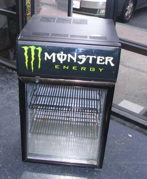 Monster Energy Drink Mini Refrigerator