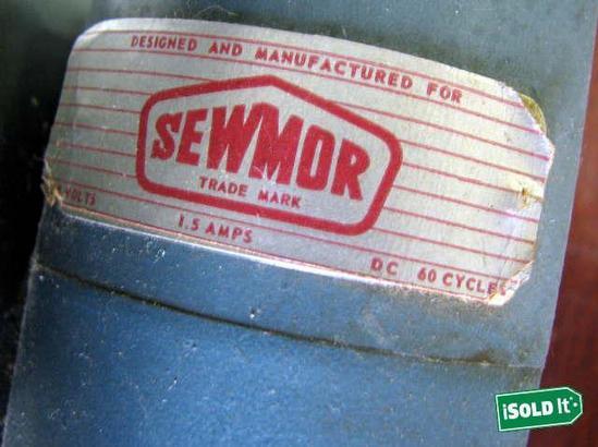 sewmor sewing machine model 202