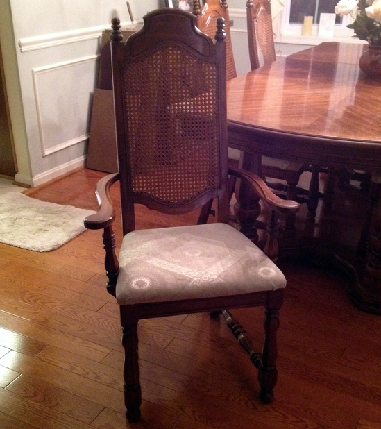 THOMASVILLE DINING ROOM TABLE And 6 CHAIRS W 2 PIECE HUTCH And CHINA CABINET