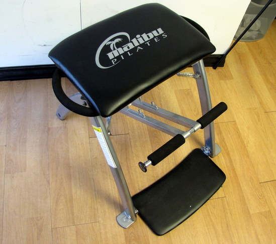 Pilates Chair Mountain Climber: MALIBU PILATES EXERCISE / FITNESS / WORKOUT CHAIR MACHINE