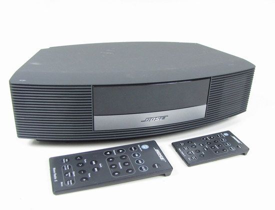 bose wave radio ii awr1b2 graphite gray am fm stereo radio clock system w remote ebay. Black Bedroom Furniture Sets. Home Design Ideas