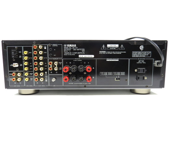 Yamaha rx 777 2 channel 260 watt home theater stereo for Yamaha home theater amplifier