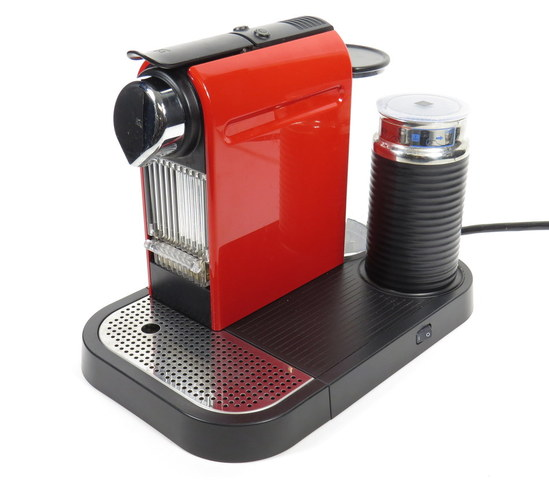 NESPRESSO NESTLE CITIZ C120 RED SINGLE SERVE ESPRESSO  -> Nespresso Nestle