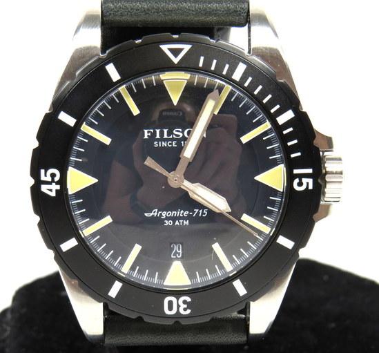 Filson shinola argonite 715 the dutch harbor men 39 s watch 30atm water resistant ebay for Argonite watches