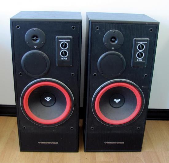 2 cerwin vega e 712 3 way floor speakers 12 woofer ebay for 12 floor speaker
