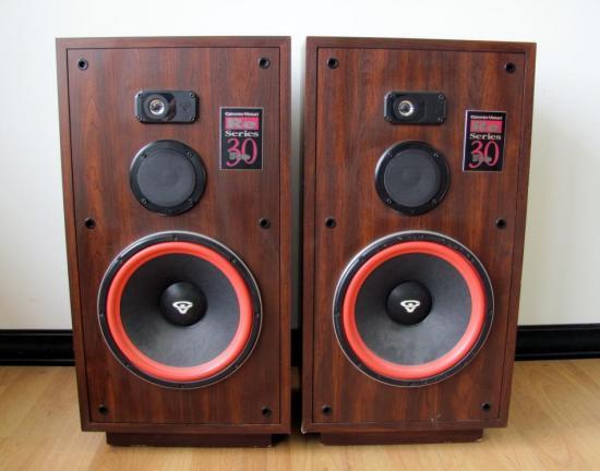 Cerwin vega re series re30 floor speakers 12 woofer ebay for 12 floor speaker