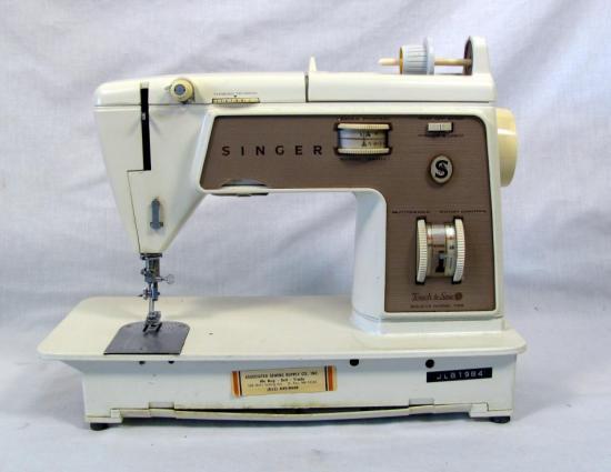 singer sewing machine model 758