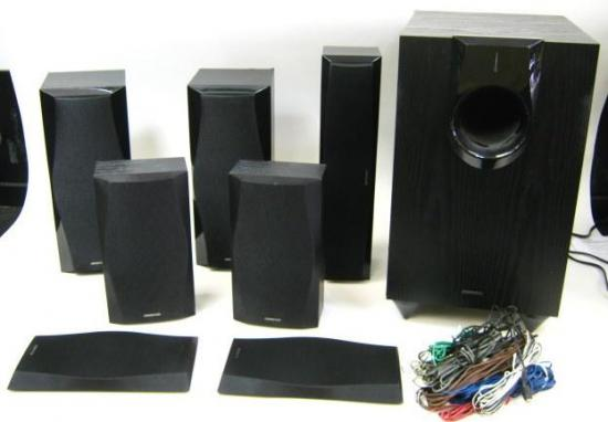 Onkyo 71 surround sound home theater system model hts8409