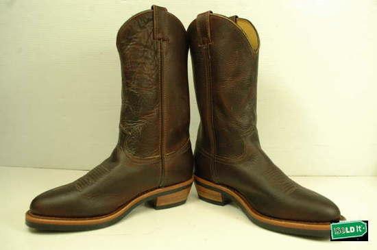 20012 Chippewa Pitstop Western Work Boots Briar 9.5D | eBay