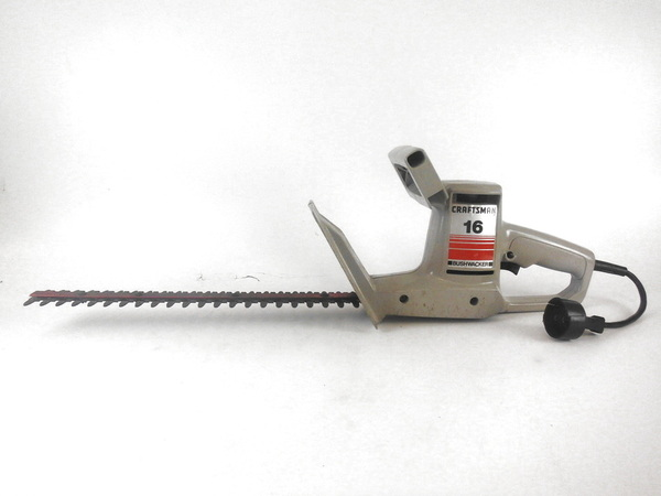 Sears Craftsman Trimmers : Craftsman sears quot bushwacker electric hedge trimmer