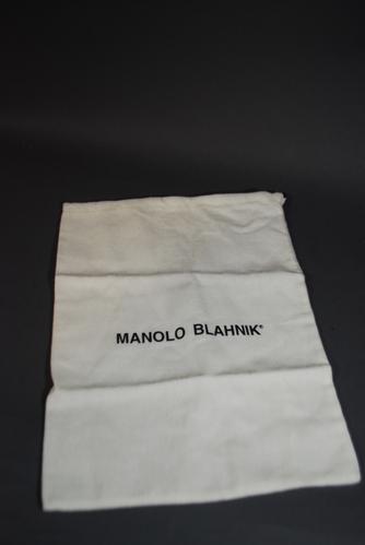 New Authentic Manolo Blahnik Shoes Cloth Shoe Dust Bag Ebay